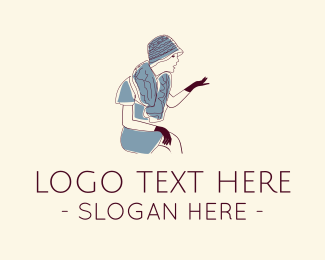 Vintage - Vintage Dress logo design