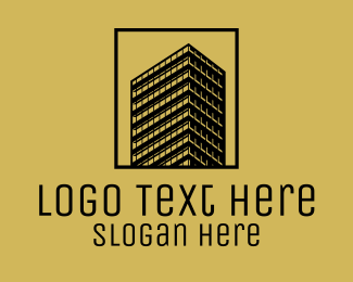 Luxury High Rise Building  Logo