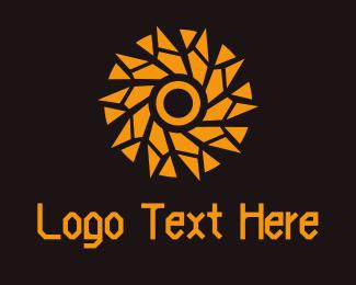 Gravity - Star Circle logo design