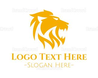 Fortune - Golden Roar logo design