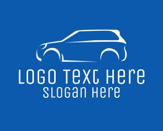 Off Road - White Car Dealer  logo design