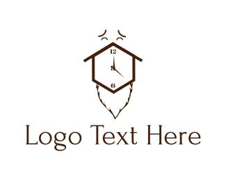 Face - Clock Face logo design