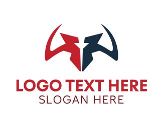 Yak - Sharp Horns logo design
