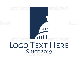 Political - Capitol Building logo design