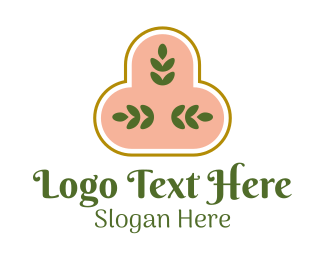 Plant Mom - Bohemian Plant Leaves logo design