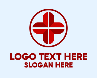 Medical Staff - Red Medical Cross logo design
