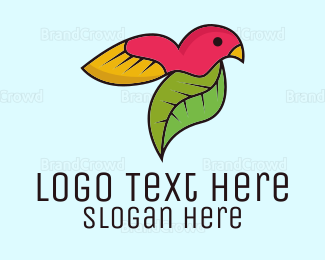 Conservation - Natural Bird logo design
