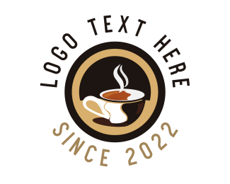 Hot Chocolate Drink Logo