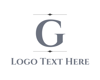 """""""Silver Letter G"""" by BrandCrowd"""
