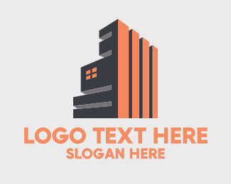 City Life - Modern Industrial Building  logo design