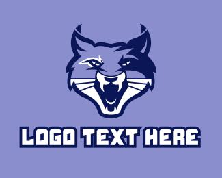 Sports - Wild Cat Mascot  logo design