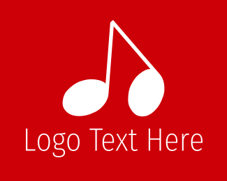 Music - Musical Note logo design