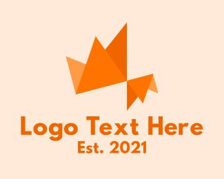 Folding - Colorful Origami logo design