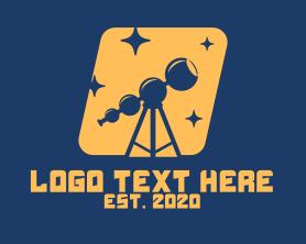 Night - Night Stargazing logo design