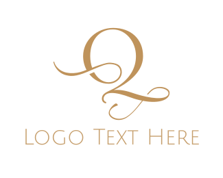 High Tea - Elegant Letter Q logo design
