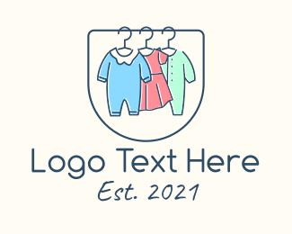 Clothes - Baby Clothes Apparel logo design