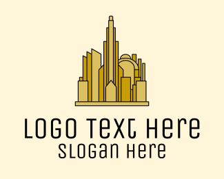 Property - Gold City Property logo design