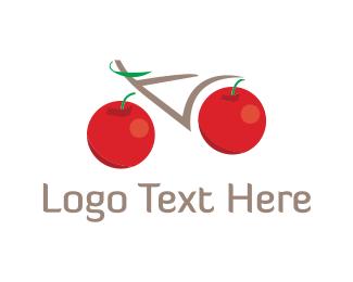 Cherry - Cherry Bike logo design