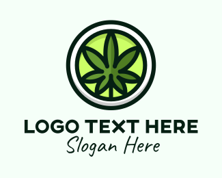 Marijuana Dispensary - Cannabis Botanical   logo design