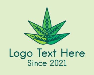 Leaves - Organic Natural Leaves logo design