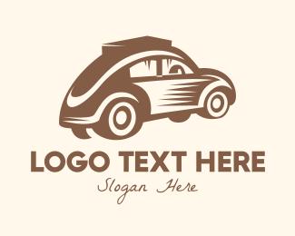 Classic Car - Vintage Cab logo design
