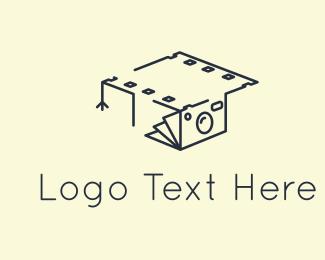 Graduate - Photography Graduation logo design