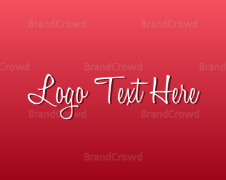 """""""Romantic Text"""" by BrandCrowd"""