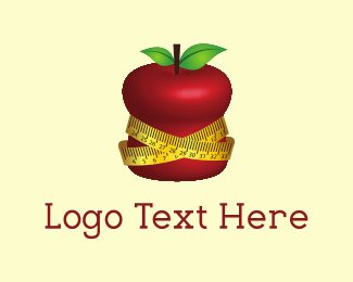 Weight Loss - Fit Apple logo design