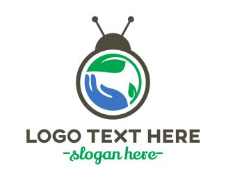 Pest - Bug Care logo design