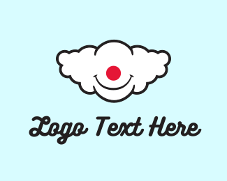 Comedy - Clown Cloud logo design