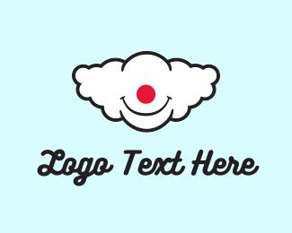 Imagination - Clown Cloud logo design