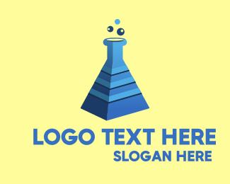 Egyptian - Pyramid Lab logo design