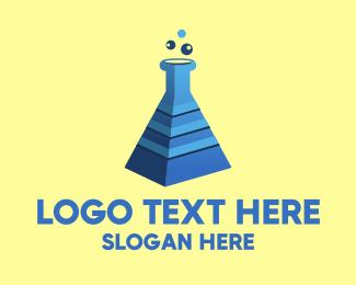 Lab - Pyramid Lab logo design