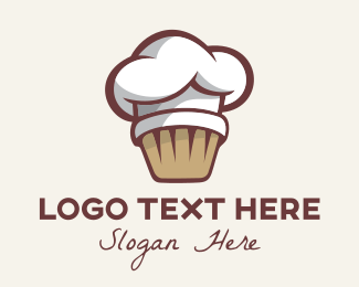 Culinary Arts - Muffin Baking Pastry Chef logo design