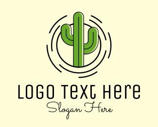 Logo Design - Cactus