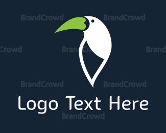 Madagascar - Green Beak logo design