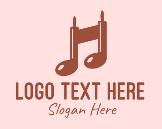 Baking Supplies - Baking Musical Note logo design