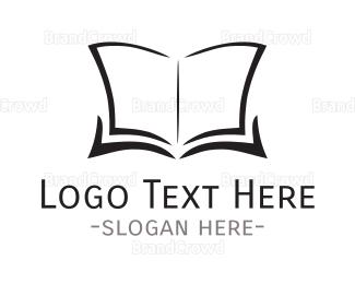 Editor - Open Book logo design