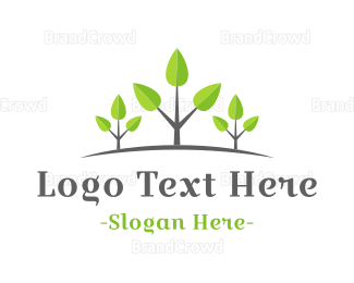 Sprout - Growing Forest logo design
