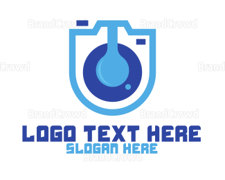 Electronics Boutique - Blue Lab Camera logo design