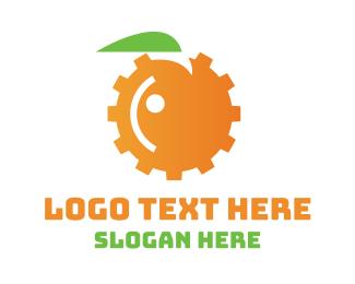 Engineer - Orange Engine logo design