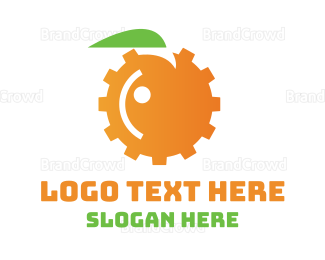 Engineer - Orange Engine logo design