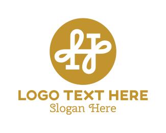"""Elegant H Monogram"" by town"