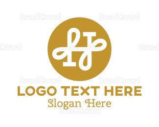 Resort - Elegant H Monogram logo design