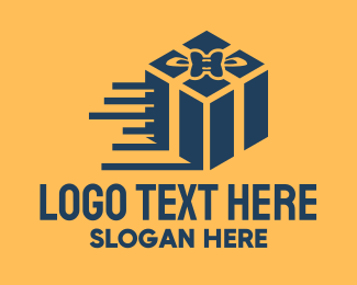 Delivery - Fast Gift Delivery logo design