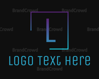"""""""Square Letter"""" by BrandCrowd"""