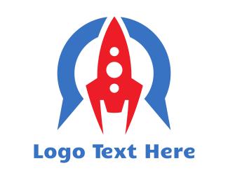 Hobby - Omega Rocket  logo design