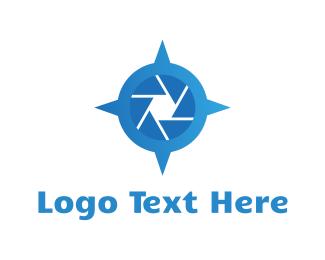 Travel Agency - Blue Travel Camera logo design