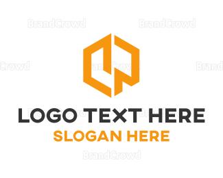 Yellow - Yellow Hexagon logo design