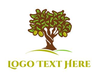 Greece - Olive Tree logo design